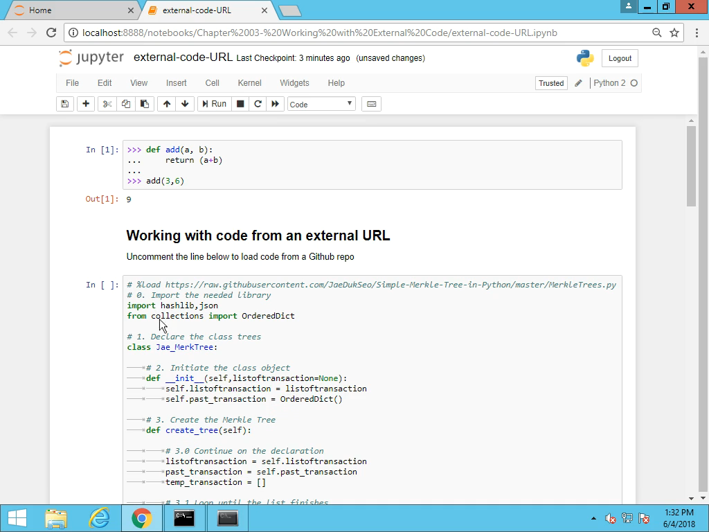 Working with External Code