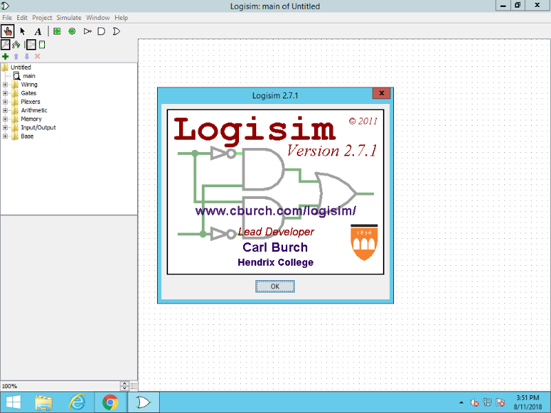 Design and Simulate Logic Circuits with Logisim